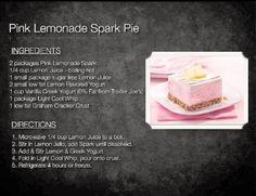 AdvoCare PA Champions: Pink Lemonade Spark Pie Recipe