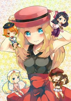 Serena pokemon XY