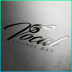 logo for Vocal lounge bar in Indigo ambitious project Lounge Logo, Bar Lounge, Bad Logos, Logo Design, Graphic Design, Studio Logo, Cafe Bar, Creative Industries, Logo Inspiration