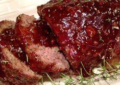 Recette : Pain de viande, sauce sucré.
