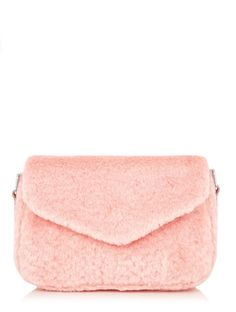 This fabulously fluffy bag is a fab piece to update your accessories  collection. The perfect 0edb35183c