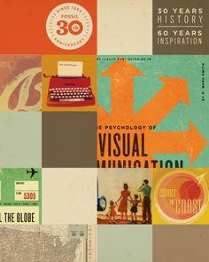 30 ans de #FOSSIL pour votre plaisir