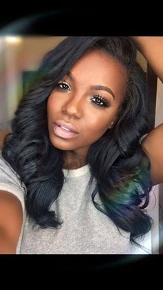 Another great hair and makeup look by Tiarra Monet!!...Love this!!...❤️