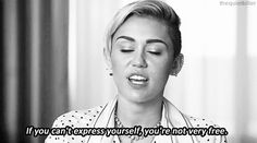 33 Reasons Miley Cyrus Was Actually The Best Thing To Happen To 2013 | Buzzfeed. I'll say it, I support Miley. She's out there, but she's owning it.