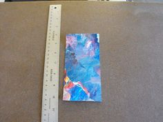 Original Signed by US Artist Abstract Expressionism Watercolor - D8 #Expressionism