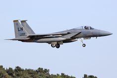 """84-0019\LN F-15C 48th FW, 493rd FS """"Grim Reapers"""" RAF Lakenheath"""
