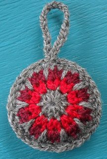 Bauble Decoration pattern by Lucy of Attic24