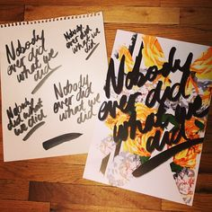 """Rebecca Minkoff""""Making of our #RMSPRING invites for #NYFW"""""""