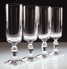 4 schöne Vintage Sektgläser Sektglas Divina 70er 80er Jahre