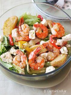 Snack Recipes, Healthy Recipes, Snacks, Healthy Meals, Potato Salad, Shrimp, Salads, Sweet Home, Potatoes