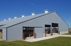 Wick Buildings Dairy, Equipment Storage & Multi-use, Livestock Confinement, Crop & Bulk Materials Storage Built In Storage, Toy Storage, Wick Buildings, Agricultural Buildings, Farming Life, Sheep Farm, Pole Barns, Ffa, Livestock
