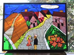 Sanctuary  Stained Glass Mosaic by MosaicsByLaCanfora on Etsy