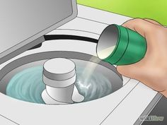 how to keep lint clothes in the washing machine