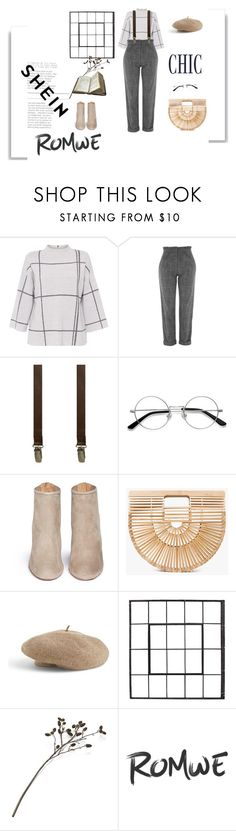 """Nerdy girl vibes"" by outfitles ❤ liked on Polyvore featuring L.K.Bennett, Topshop, 40 Colori, EyeBuyDirect.com, Aquazzura, Cult Gaia, Venus and Crate and Barrel"