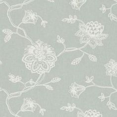 Ribble Valley Fabric Collection by Clarke & Clarke is a beautiful selection of country-chic fabrics available in a relaxed and calming palette. Paisley Wallpaper, Fabric Wallpaper, Dublin, Clarke And Clarke Fabric, Beautiful Curtains, Beautiful Wallpaper, Made To Measure Curtains, Fabric Houses, Coordinating Colors