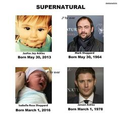 you could say it's... Supernatural