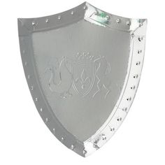 Meri Meri Shield Plates Little knights and maidens will love their food served onto these shiny silver shield plates. Embossed foil both sides Silver foil detail Pack of 8 Knight Cake, Knight Party, Fairytale Birthday Party, Dragons, Medieval Shields, Knight Shield, Medieval Party, Dragon Knight, Mascaras