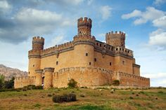 castillo de Manzanares El Real, Madrid