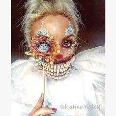 """Gefällt 4,008 Mal, 41 Kommentare - @horror_sketches auf Instagram: """"Mua: @katiewrigley . Tag your work at #horror_sketches to be featured. . #Makeup #Makeupartist #Mua…"""""""