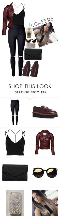 """Fall Footwear Trend: Loafers"" by nare-861 ❤ liked on Polyvore featuring Tod's, River Island, LULUS, Anthropologie and loafers"