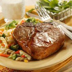 Honey-Glazed Pork Chops Recipe
