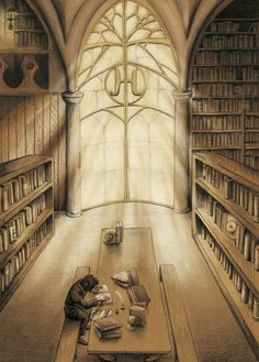 Snape in the Hogwarts Library Arte Do Harry Potter, Harry Potter Wizard, Yer A Wizard Harry, Harry Potter Anime, Harry Potter Universal, Harry Potter Fandom, Harry Potter World, Harry Potter Severus Snape, Severus Rogue