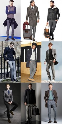 The Return Of The Grey Flannel Separates Lookbook Inspiration