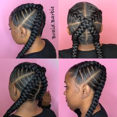 STYLECASTER | Protective Hairstyles to Try | X-Ray Braids