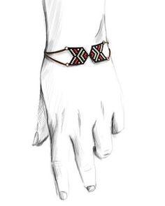 En tête à tête pour la version bracelet - #generalmotif #perlesaddict #brickstitch #jenfiledesperlesetjassume #PerlesAddictAnonymes #bracelet #hands #handmade #diy