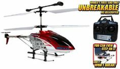 GYRO Hercules Unbreakable 3.5CH Electric RTF RC Helicopter by World Tech Toys. $89.95. Super Strong Polymer Body, Coaxial Rotor. LED Lights, Built In Gyroscope For Maximum Stability. Electric Powered, Single Rear Rotor. Body Can Take Up To 200 Pounds Of Force, Easy To Fly. 3.5 Channel Radio Control, 100% Ready To Fly. Introducing the GYRO Hercules 3.5CH Electric RTF RC Helicopter! The WORLD'S FIRST AND ONLY UNBREAKABLE RC HELICOPTER. This RC helicopter has super strong polym...