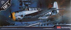 Grumman TBF-1 Avenger. Academy, 1/72, injection, No.12452. Price: 7,25 GBP.