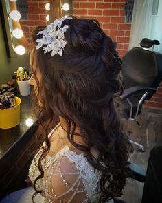Gelin saçı ve makyaj modelleri 2017 http://www.basakkuaformakyaj.com/