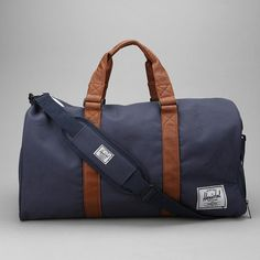 Incredible. Like this even more than the @Everlane weekender. Novel Weekender Bag by Herschel Supply Co.