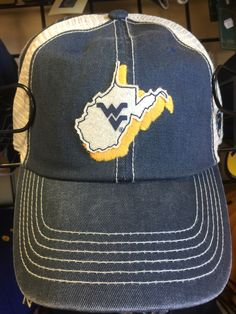 new styles 6c0b0 5d040 Available at Mountaineer Zone 304-599-8326 Men s Hats, West Virginia, Hats