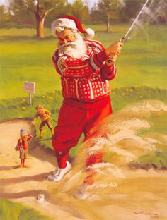 Tom Browning Sandy Claus Cards