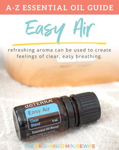 Over the past few weeks my kids have had the dreaded sniffles. I've been frequently diffusing Easy Air Respiratory Essential Blend to help clear their nose so they can sleep comfortably at night. Read more about it here!