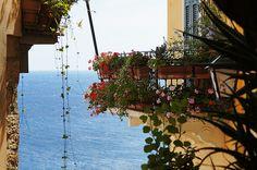 il balcone alla fine del mondo #Liguria (Cervo)