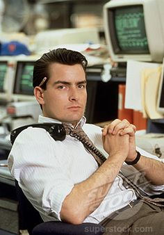 Charlie Sheen, Wall Street, 1987