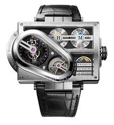 Harry Winston Histoire de Tourbillon I like unique watches Trendy Watches, Fine Watches, Cool Watches, Watches For Men, Unique Watches, Harry Winston, Dream Watches, Luxury Watches, Patek Philippe