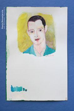 Abdellah Taïa, di Paola Monasterolo. QUEER PORTRAITS, 5. - feat. Federico Boccaccini www.federiconovaro.eu