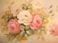 Arte Brasil | Pintura em tela - Motivo Floral - Douglas Frasquetti