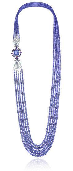 Tanzanite jewellery: its rich blue hues ranging from ultramarine to light purple…
