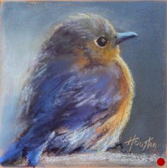 Thoughtful Baby Bluebird Pastel on copper : Thoughtful Baby Bluebird Pastel on copper Pastel Artwork, Bird Artwork, Pastel Paintings, Watercolor Bird, Watercolor Paintings, Watercolor Artists, Watercolor Portraits, Pinturas Color Pastel, Blue Bird Art