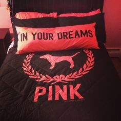 bed, pink , victorias secret