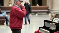Chicago's Magical Piano -- Staged or not, this is funny.