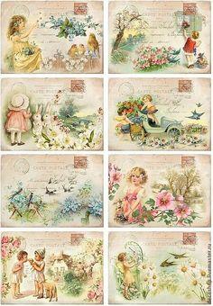 Vintage printables by Lesley Calabria Brown