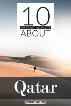 See a curious collection of interesting facts abot Qatar. Find out how many trees are there in the desert and more peculiar Qatar facts Travel Guides, Travel Tips, Fun Travel, Travel Plan, 10 Interesting Facts, Africa Destinations, Jordan Travel, Visit Dubai, Israel Travel