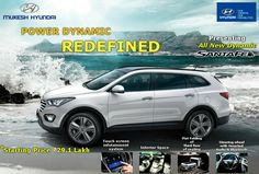 Precisely tuned to maximize the  dynamic performance of Santa Fe.For more info visit http://www.mukeshhyundai.com