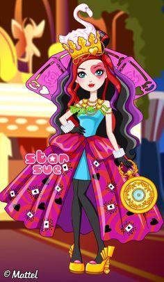 Ever After High Way Too Wonderland Lizzie Hearts Dress Up Game : http://www.starsue.net/game/Way-Too-Wonderland-Lizzie-Hearts.html Have Fun! ♥♥♥