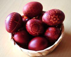 Πρωτότυπα πασχαλινά αβγά με σεβασμό στην παράδοση Easter Recipes, Easter Ideas, Greek Recipes, Easter Eggs, Food And Drink, Fruit, Crafts, Decor, Jars